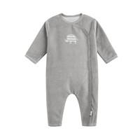 P'tit bisou  中性 长袖婴幼儿保暖连体服 6-18个月 *3件