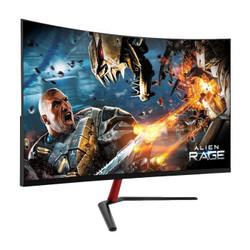 安美特32英寸液晶曲屏幕HDMI 黑色75HZ