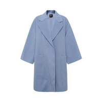 Theory 女士蓝色羊毛大衣外套 I0601402 *3件
