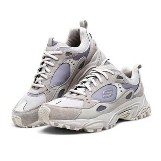 限尺码 : Skechers 斯凯奇 666058 男士老爹鞋