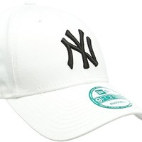 New Era MLB Basic NY Yankees 9Forty 男士可调节棒球帽