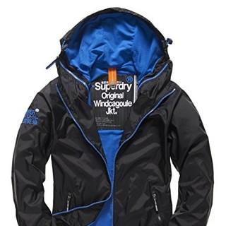 银联专享 : Superdry 极度干燥 1020200500140 男士双拉链带帽防风外套 *2件