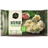 bibigo 必品阁   荠菜杏鲍菇猪肉水饺720g 36只装