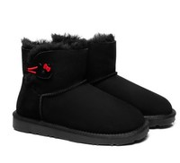 Everugg HELLO KITTY联名款 821012/851004 皮毛一体雪地靴