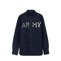 网易严选 ARMY 男式牛津纺衬衫
