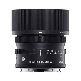 SIGMA 适马 45mm F2.8 DG DN Contemporary 全画幅 定焦镜头 索尼E卡口