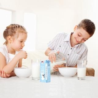 Theland 纽仕兰 澳大利亚进口 纯牛奶 200ml*24盒 蓝装