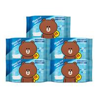 Kleenex 舒洁 LINE FRIENDS 湿厕纸 40片*5包