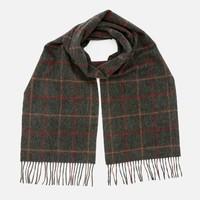 Barbour Tattersall 格子羊毛围巾