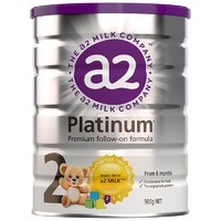 a2 艾尔  Platinum 白金版 幼儿配方奶粉 2段 900g/罐