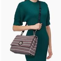 COCCINELLE 可奇奈尔 Liya Wool系列 女士手提包