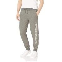 Calvin Klein 41BK751 男士交织字母慢跑运动裤