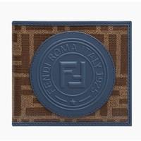 FENDI 芬迪 男士FF图案折叠钱包钱夹 *2件