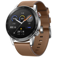 HONOR 荣耀 MagicWatch 2 46mm 时尚款 亚麻棕 智能运动手表