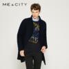 ME&CITY 539263 男士中长款羊毛呢大衣