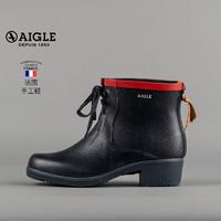 AIGLE 艾高 女士经典低帮系带手工雨靴 MIS JUL BOT LAC