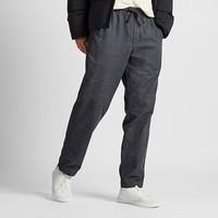 UNIQLO 优衣库 UQ419309000 男士法兰绒松紧长裤