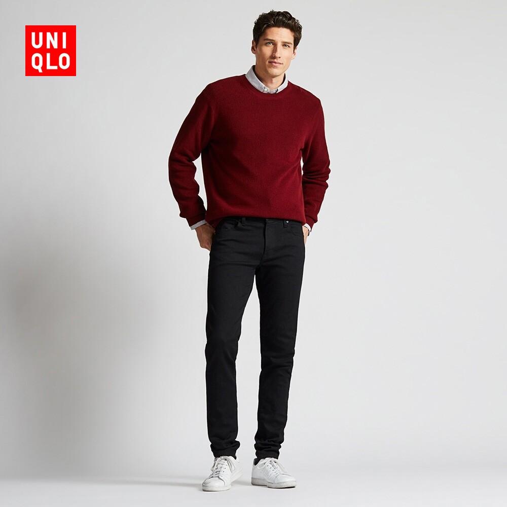 UNIQLO 优衣库 418912 男士紧身牛仔裤
