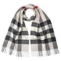 BURBERRY 博柏利 8015550 羊绒格纹围巾