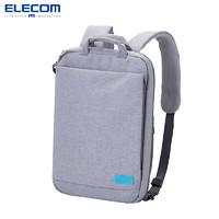 ELECOM商务双肩包男学生书包女off toco电脑包休闲双肩包OF03背包