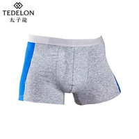 TEDELONENERGY 太子龍 男士平角内裤 两条装
