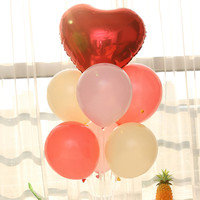 装饰气球混色20个