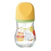 Pigeon 贝亲 宽口径玻璃奶瓶 臻宝系列160ml *3件