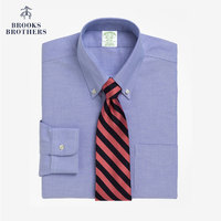 Brooks Brothers/布克兄弟男士扣结领Supima棉免烫衬衫1000001938