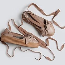 PUMA 彪马 x Fenty by Rihanna Bow Creeper Sandal 女士绑带凉鞋