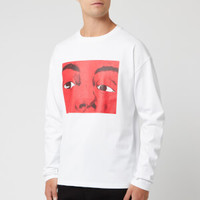 JWANDERSON Eyes Printed 男士长袖T恤