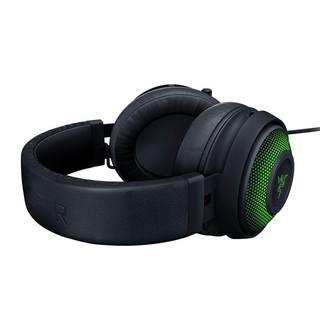 RAZER 雷蛇 北海巨妖终极版 耳罩式头戴式有线耳机 黑色