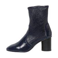 STUART WEITZMAN 斯图尔特·韦茨曼 MARGOT 系列 女士圆筒粗跟短靴踝靴 *3件