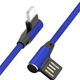 BINGOU 缤购 Type-C/Micro-USB/Lightning数据线 编织红/蓝 1米/1.5米 1.9元包邮(需用券)