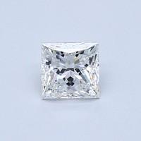Blue Nile 0.52 克拉公主方形钻石(切工VG 成色F色 净度VVS2)
