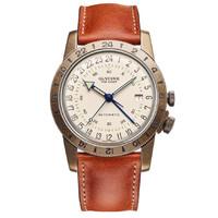 GLYCINE 冠星 Airman 系列 GL0245 复古款 男士机械腕表