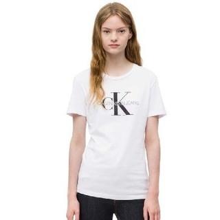 考拉海购黑卡会员 : Calvin Klein 卡尔文·克莱 J20J207878 女款短袖T恤