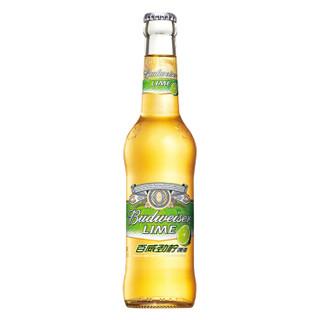 Budweiser 百威 劲柠啤酒小瓶330ml*24瓶