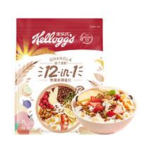 Kellogg's 家乐氏 谷兰诺拉 12-in-1 坚果水果麦片 600g