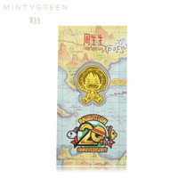 周生生 CHOW SANG SANG Au999.9黃金壓歲錢one piece航海王路飛壓歲錢金片 91370D 定價