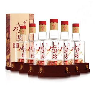 水井坊臻酿八号38度500ml*6瓶整箱装浓香型低度白酒