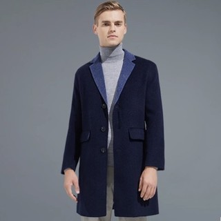 YANXUAN 网易严选 男式双色双面纯羊毛大衣