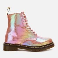 银联专享 : Dr.Martens 1460彩虹色 女士马丁靴