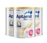 【澳洲直邮】【3罐装】Aptamil 澳大利亚 爱他美 白金版奶粉4段 2岁以上 900g 有效期至2020年的12月左右