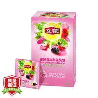 立顿Lipton 花果茶 异国风味水果茶 三角茶包袋泡茶叶调味茶2g*20