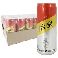 Schweppes 怡泉 姜水330ml*24听/箱 含气饮料