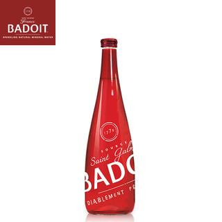 evian 依云 波多系列 法国气泡水波多330ml玻璃瓶(红)/年轻水