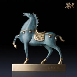 铜师傅 全铜摆件《马到成功》 家居工艺品 装饰品 客厅摆件