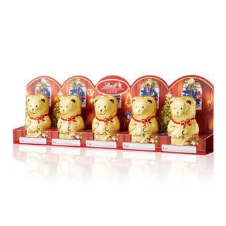 Lindt/瑞士莲 泰迪熊牛奶巧克力 -50克