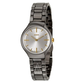 RADO 雷达 True Thinline R27956112 女士陶瓷腕表