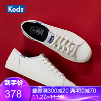 Keds小白鞋 皮质款女鞋 经典款休闲板鞋 秋冬新款 WH57559 白色 39